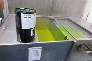 Magnaflux Penetrant Inspection